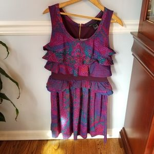 Marc Jacob Dusted Violet Tank Dress medium NWT